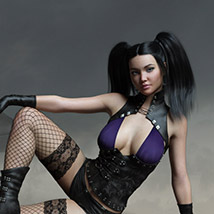 CruX Rogue for the Genesis 3 and Genesis 8 Females image 1