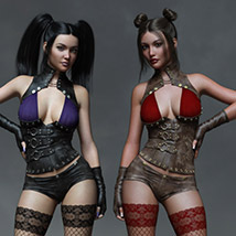 CruX Rogue for the Genesis 3 and Genesis 8 Females image 4