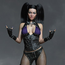 CruX Rogue for the Genesis 3 and Genesis 8 Females image 9