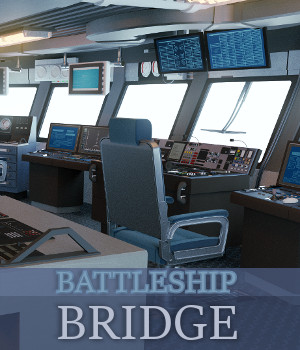 Battleship Bridge 3D Models TruForm