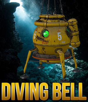 Diving Bell 3D Models Cybertenko