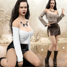 Hot N Cold Clothing Set for Genesis 8 Females for iRay and dForce  image 7