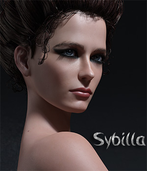 Sybilla for Genesis 8 Female 3D Figure Assets Sangriart