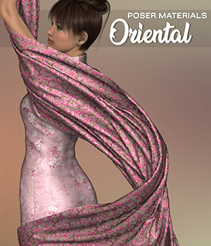 Poser - Oriental 2D Graphics Merchant Resources Atenais