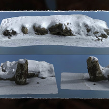 3D Scenery: Frozen Natural Riverbank image 4