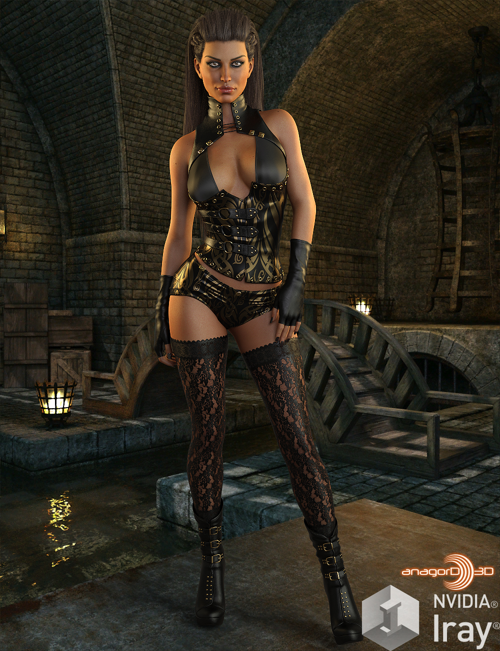 BLACKHAT - CruX Rogue for the Genesis 3 and Genesis 8 Females