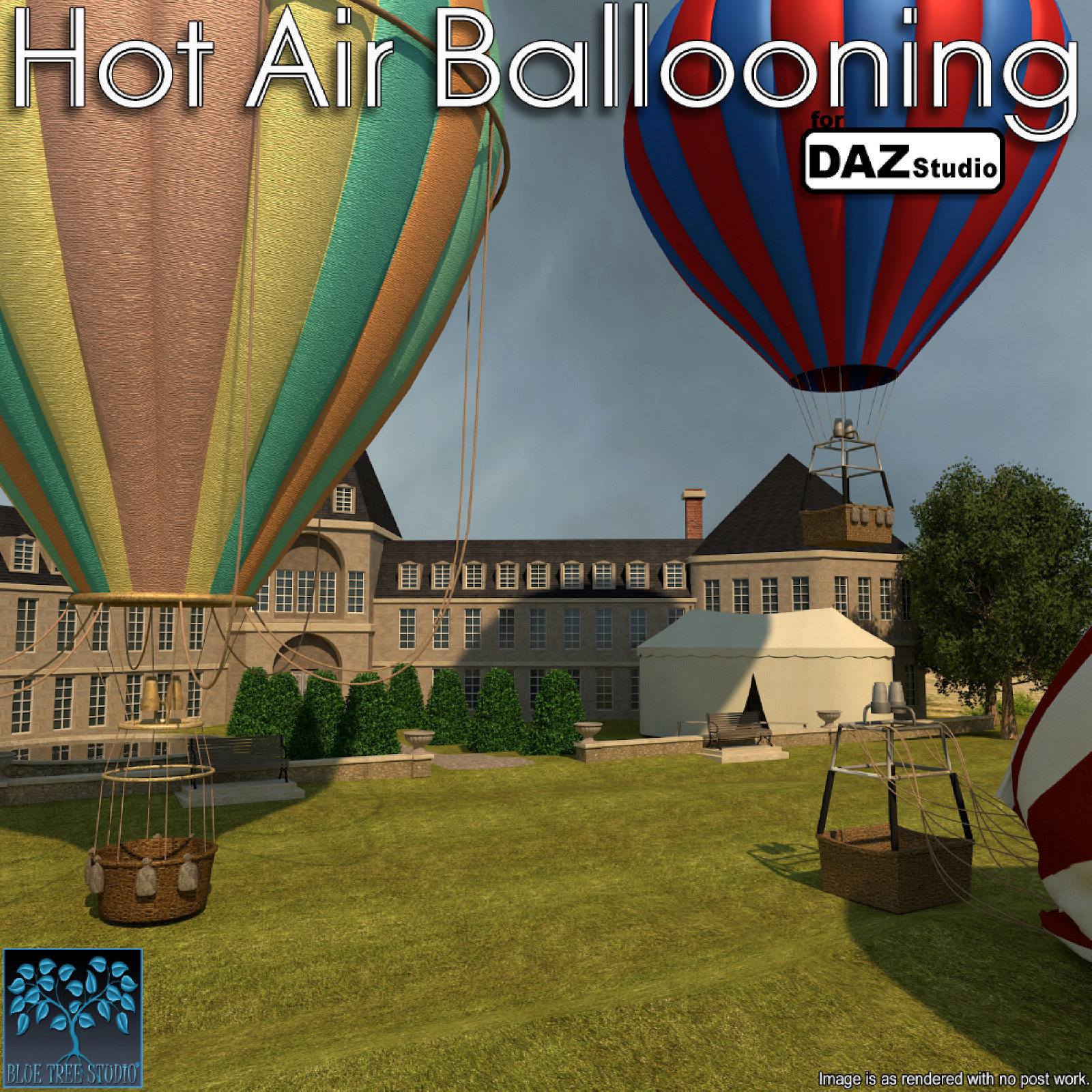 Hot Air Ballooning for Daz Studio