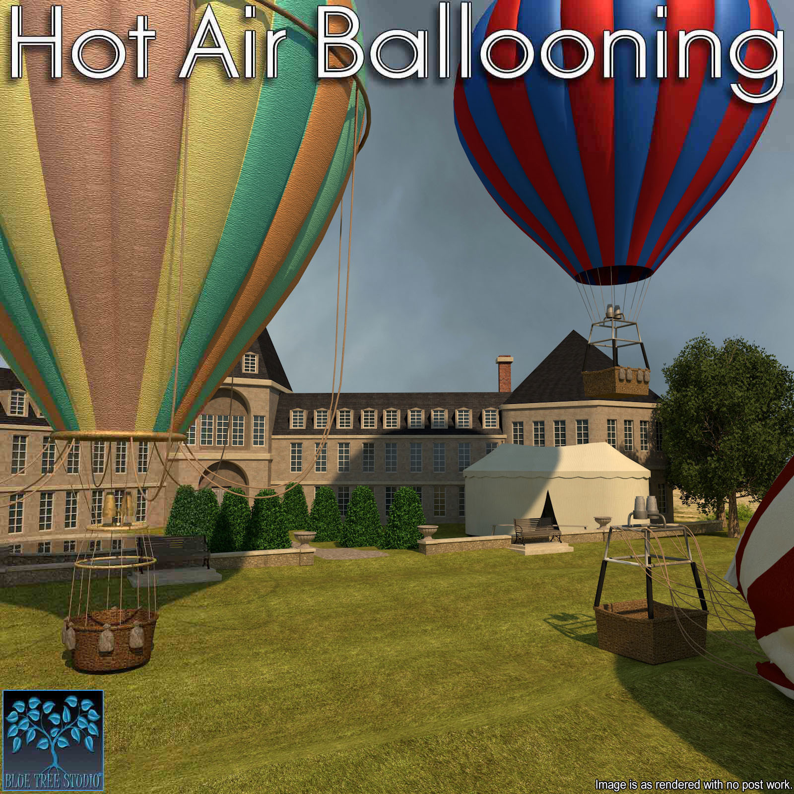 Hot Air Ballooning for Poser