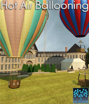 Hot Air Ballooning for Poser 3D Models BlueTreeStudio