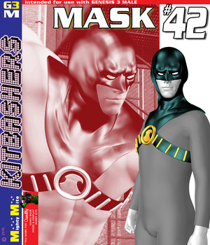 Mask 042 MMKBG3M 3D Figure Assets MightyMite