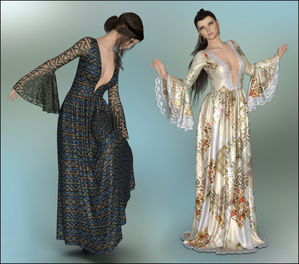 dforce - Bohemian Dreams for G8F by Lully