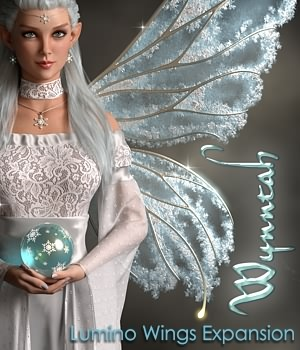 Lumino Wings - Wynntah 3D Figure Assets fabiana