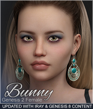 Sabby-Bunny for Genesis 2  with Iray  3D Figure Assets Sabby
