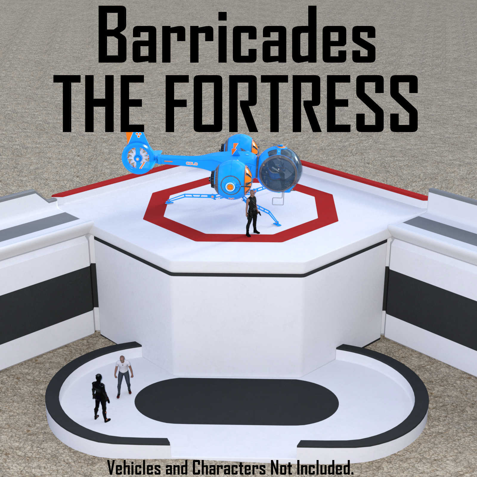 Barricades - The FORTRESS for Daz Studio