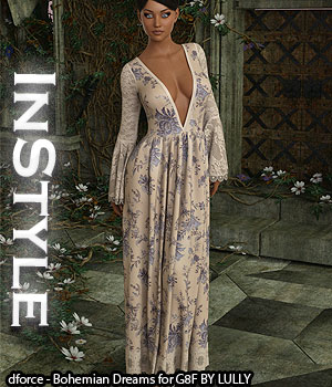 InStyle - dforce - Bohemian Dreams for G8F 3D Figure Assets -Valkyrie-