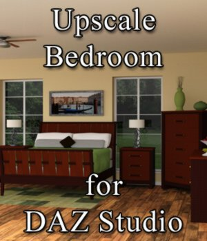 Upscale Bedroom - for DAZ Studio  3D Models VanishingPoint
