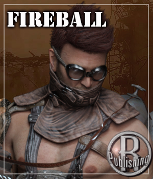 Outlanders: Fireball - for DS and Genesis 8 Male 3D Figure Assets RPublishing