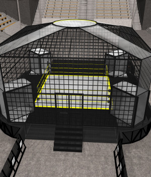 Cages for Dex's Wrestling Set (Poser 7+) 3D Models DexPac