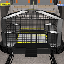Cages for Dex's Wrestling Set (Poser 7+) image 1