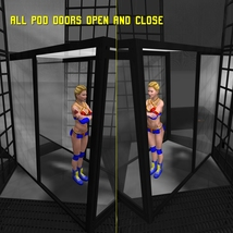 Cages for Dex's Wrestling Set (Poser 7+) image 2