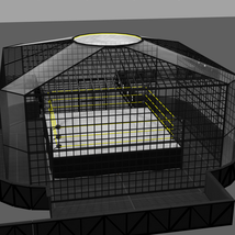 Cages for Dex's Wrestling Set (Poser 7+) image 3