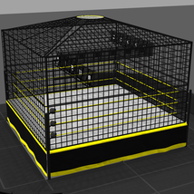 Cages for Dex's Wrestling Set (Poser 7+) image 4