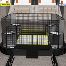 Cages for Dex's Wrestling Set (Poser 7+) image 6
