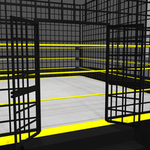 Cages for Dex's Wrestling Set (Poser 7+) image 7