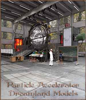 Particle Accelerator For DS 3D Models DreamlandModels