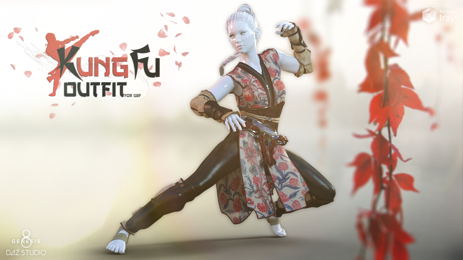 Kung Fu Outfit G8F by Man7a