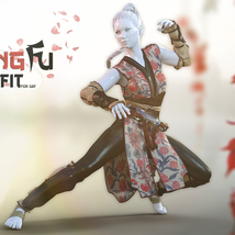 Kung Fu Outfit G8F image 1