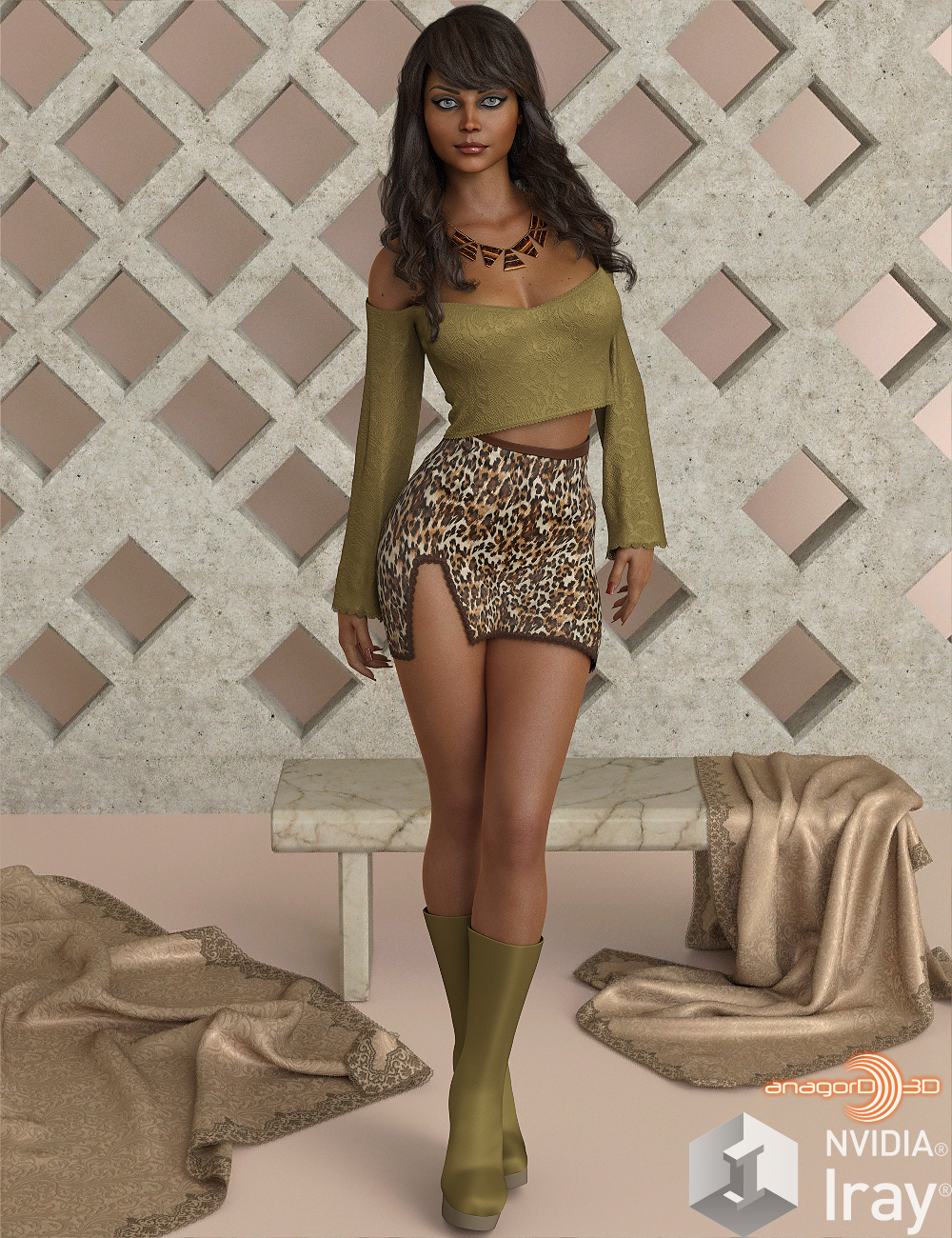 VERSUS - Hot N Cold Clothing Set for Genesis 8 Females for iRay and dForce by Anagord