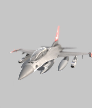 F-16 - Extended License 3D Game Models : OBJ : FBX 3D Models Extended Licenses MohamedAmir