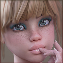 TDT-Patty for Genesis 3 Female image 1