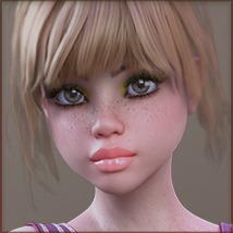 TDT-Patty for Genesis 3 Female image 2