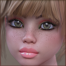 TDT-Patty for Genesis 3 Female image 3