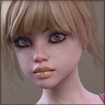 TDT-Patty for Genesis 3 Female image 4
