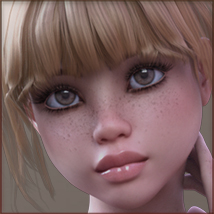 TDT-Patty for Genesis 3 Female image 5