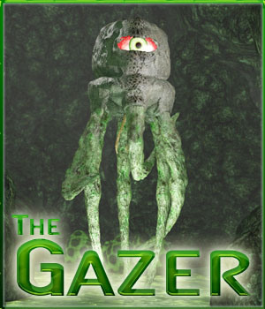 Gazer - Alien Creature 3D Models 3-d-c