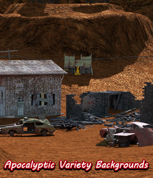 FB Apocalyptic Variety Backgrounds and Bonus Images 2D Graphics fictionalbookshelf