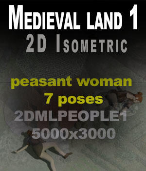 peasantWoman1 2D Graphics imagebos