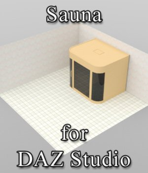 Sauna (for DAZ Studio) 3D Models VanishingPoint