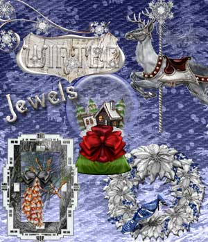 Harvest Moons Winter Jewels 2D Graphics Harvest_Moon_Designs