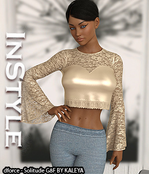 InStyle - dforce - Solitude G8F 3D Figure Assets -Valkyrie-