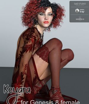 Keyara for Genesis 8 Female 3D Figure Assets brahann