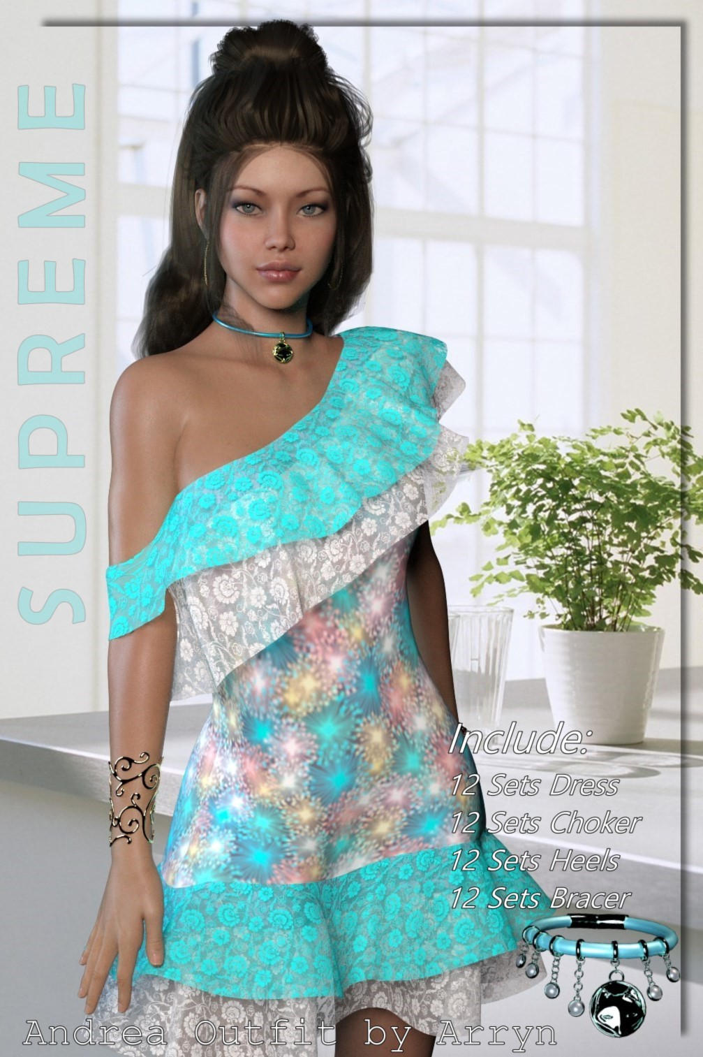 Supreme- dforce Andrea Outfit