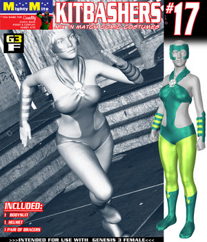 Kitbashers 017 MMG3F 3D Figure Assets MightyMite