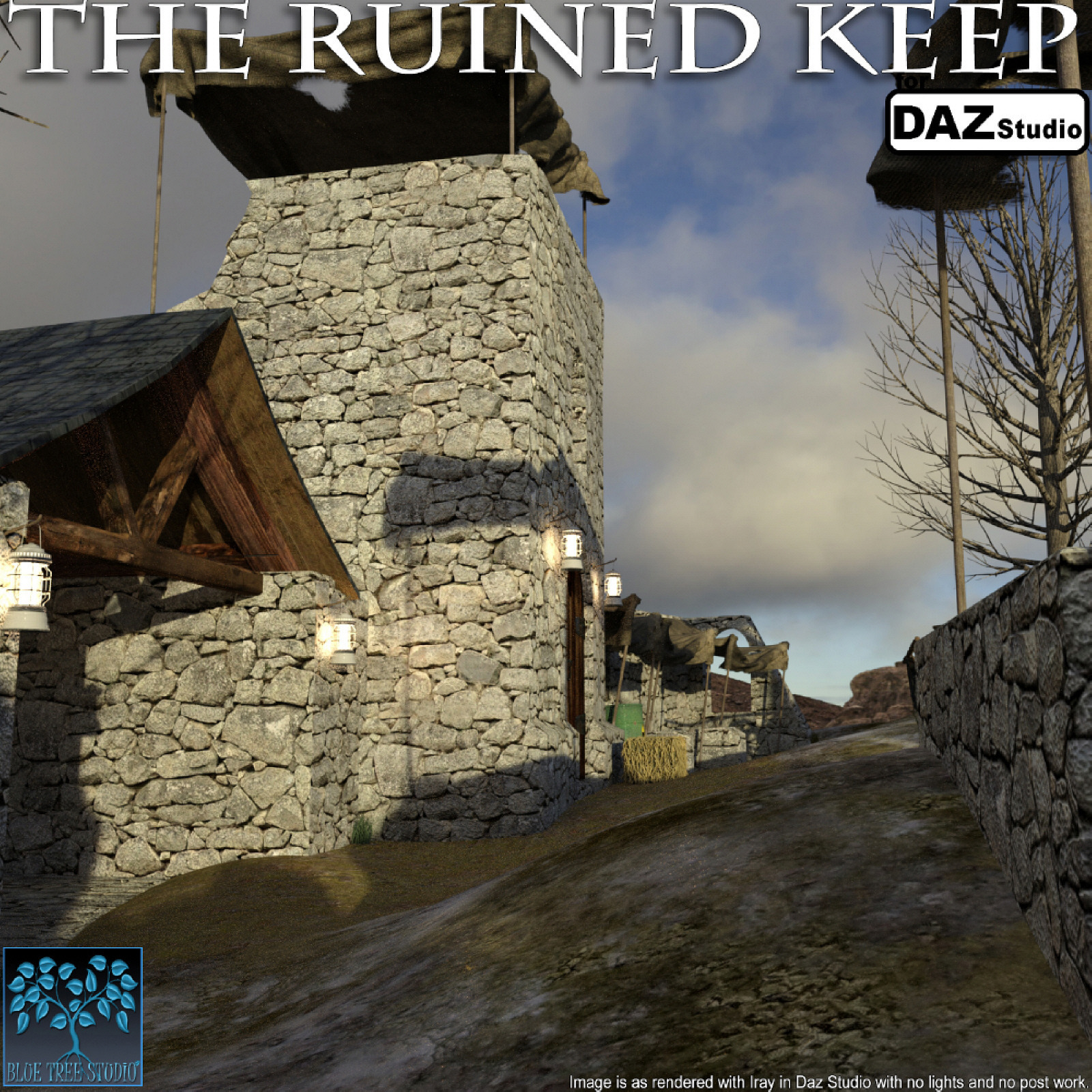 The Ruined Keep for Daz Studio