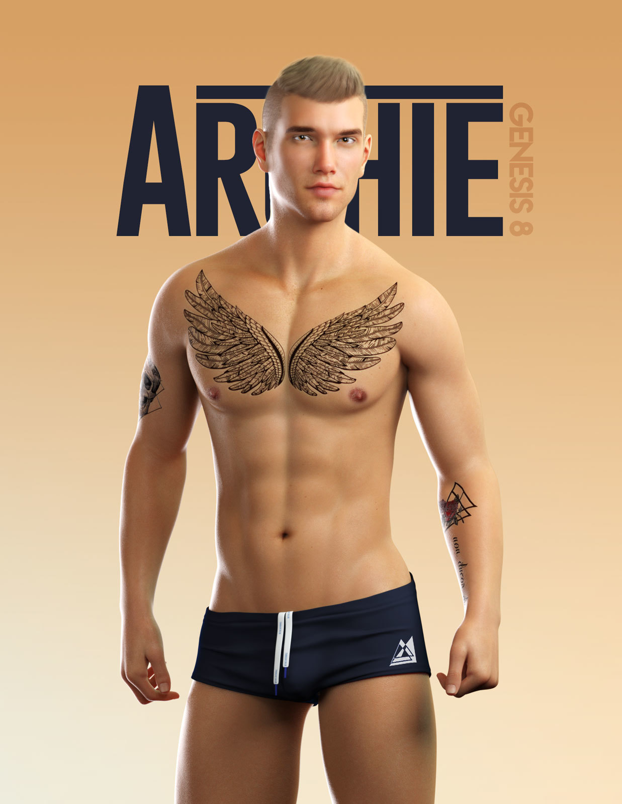 Archie for Genesis 8 Male by sithlordsims
