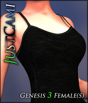 JustCami for Genesis 3 Females 3D Figure Assets Quanto